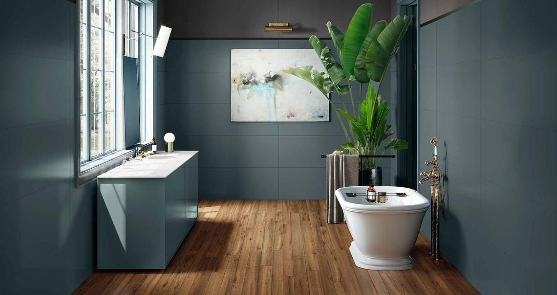 Azulejos Para El Cuarto De Baño: Cerámica Y Porcelánico   Marazzi 9629