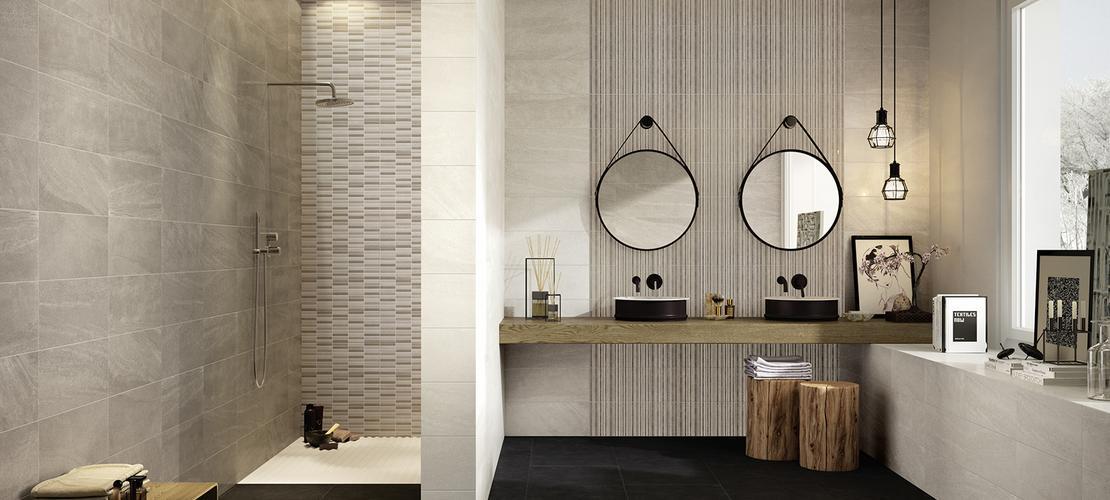 Interiors revestimiento ba o y cocina marazzi for Revestimiento banos modernos
