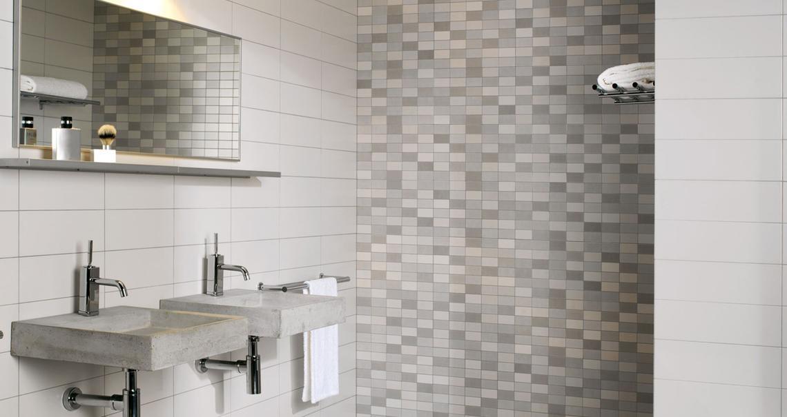 Minimal gres porcel nico efecto minimal marazzi - Mosaico per bagno turco ...
