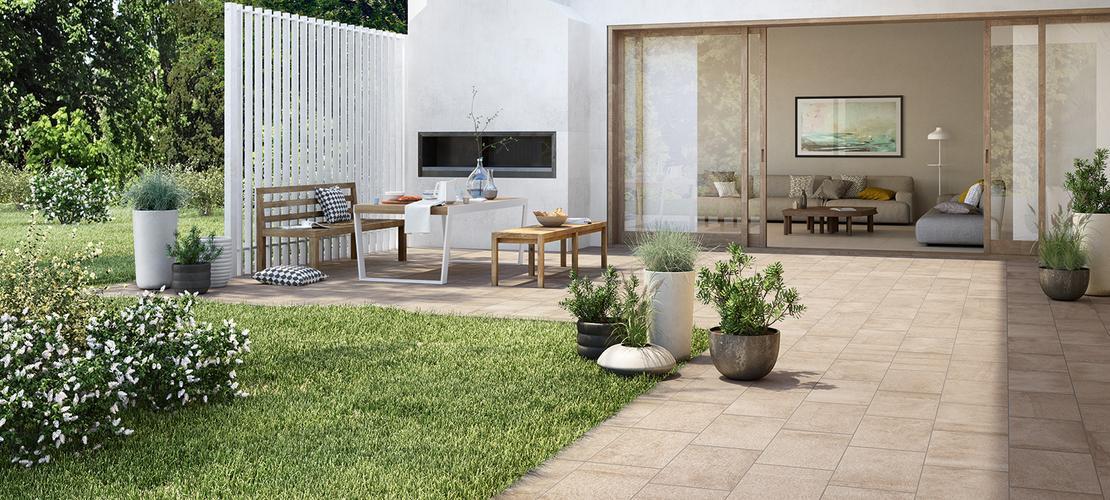 Pietra occitana gres porcel nico para exteriores marazzi - Gres para terrazas exteriores ...