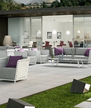 SistemN20 - porcelain stoneware outdoor ceramic tiles