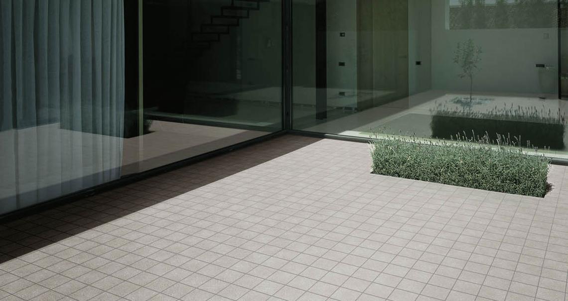 Space gres porcel nico para exteriores marazzi - Gres porcelanico para exterior ...