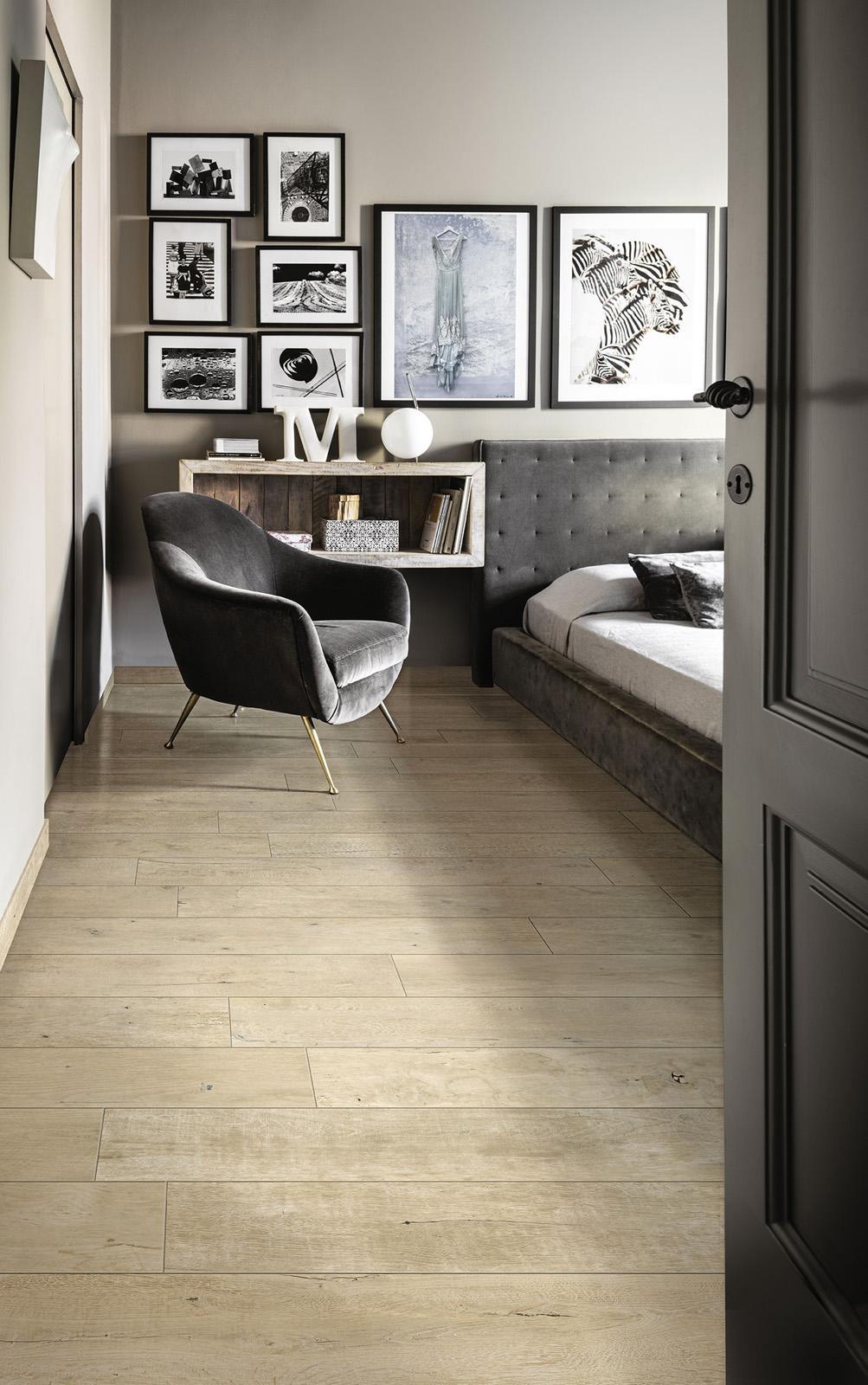 treverkdear efecto madera dormitorio - Suelos Ceramicos Imitacion Madera
