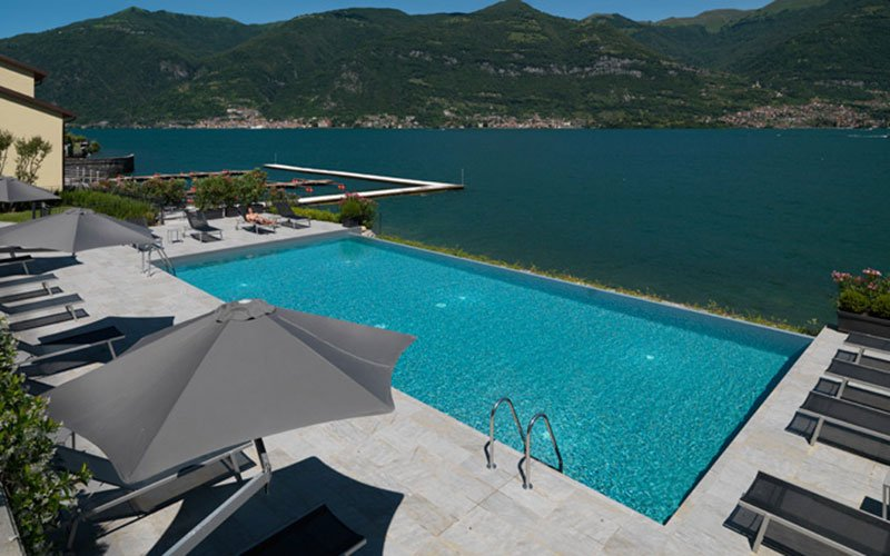 Marazzi in&out solutions to design a deluxe resort on Como Lake