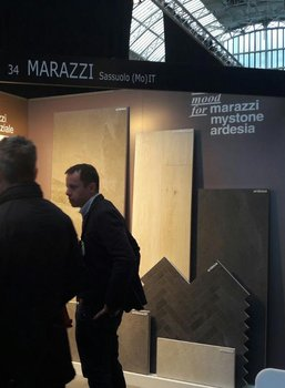 Marazzi en Londres con Architect@work