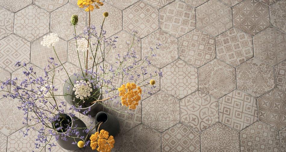 El encanto imperecedero de las baldosas hidr ulicas y los azulejos hexagonales marazzi - Baldosas hexagonales ...