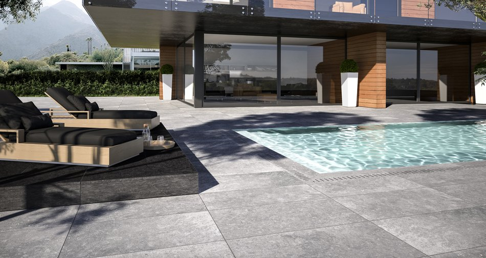 50x100 cm and 20 mm thick: the new size for Marazzi outdoor coverings.