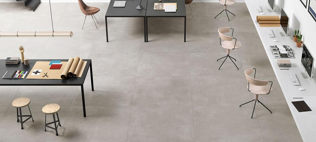 Azulejos de formatos grandes para suelos - Marazzi 6734