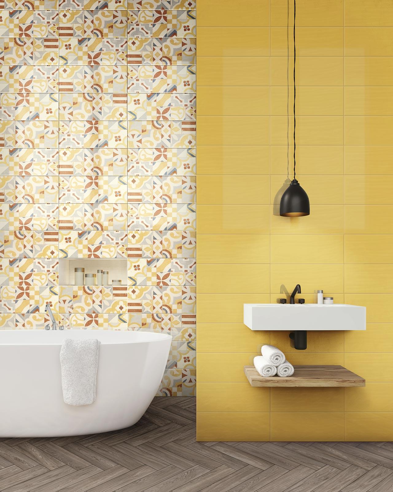 Rivestimenti Bagno Rosa : Azulejos cuarto de baño cerámica y porcelánico marazzi