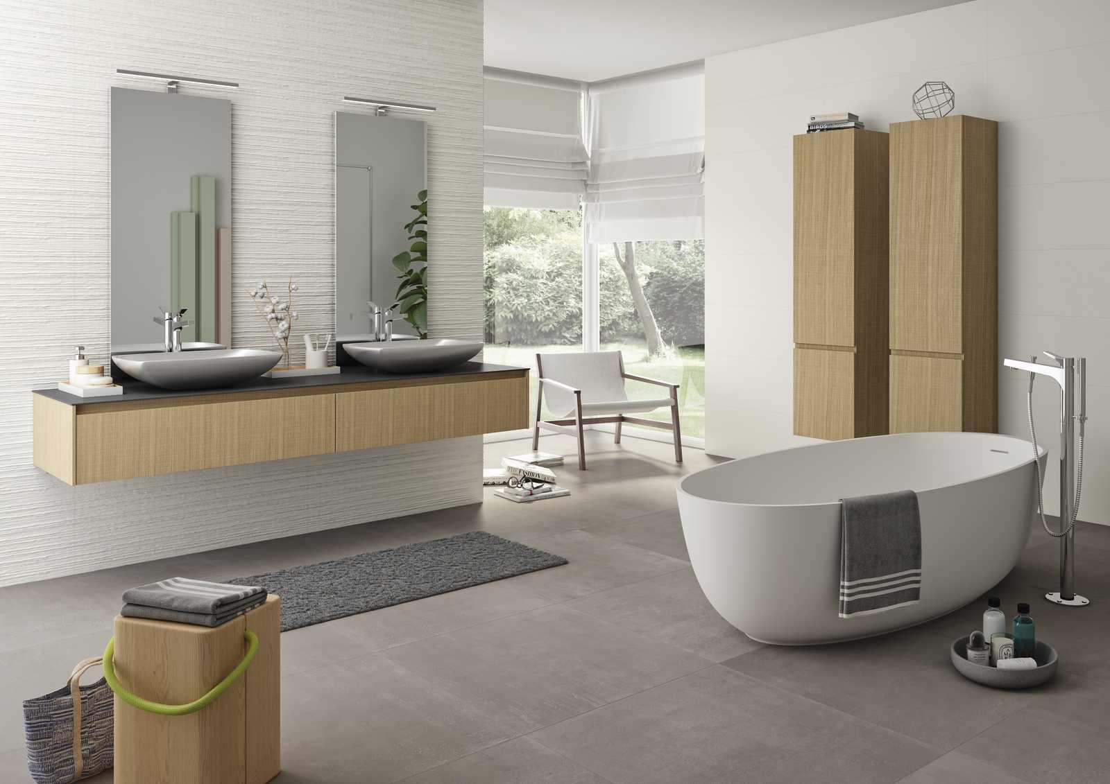 Essenziale - Cerámica Blanca para baños de estructuras ...
