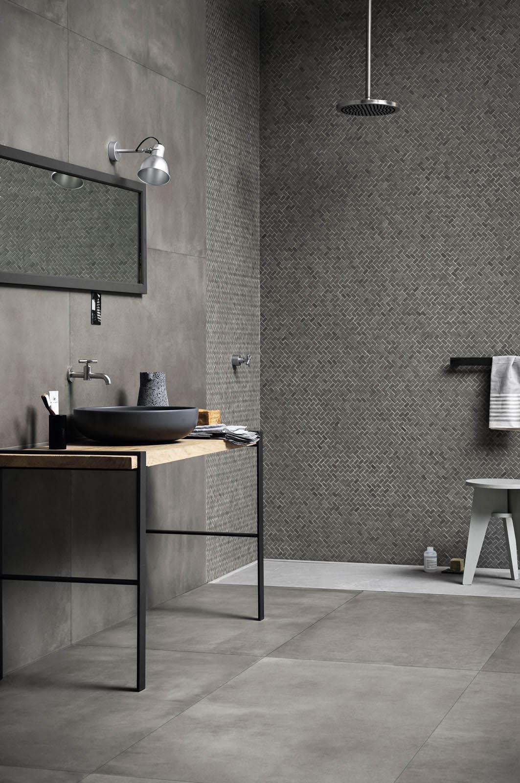 Azulejos cuarto de ba o cer mica y porcel nico marazzi - Cuartos de bano azulejos ...