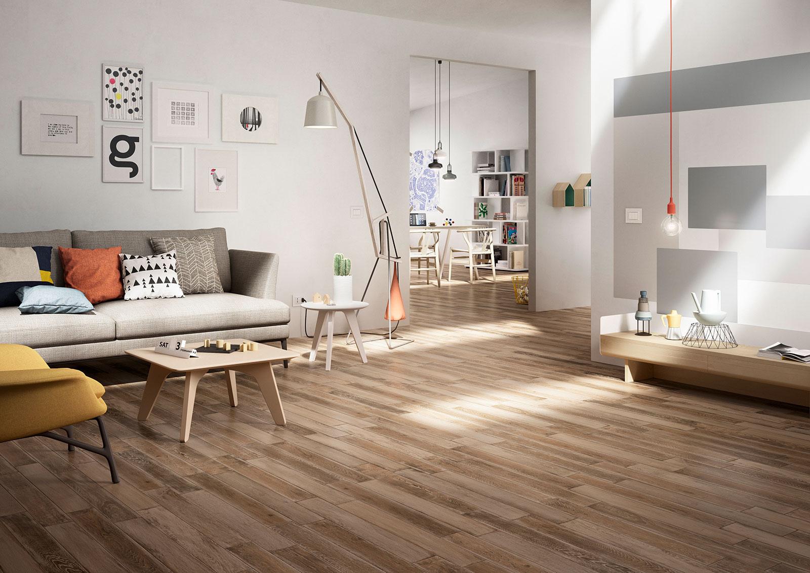 Treverkage gres imitaci n madera para pavimentos marazzi - Suelos imitacion madera ...
