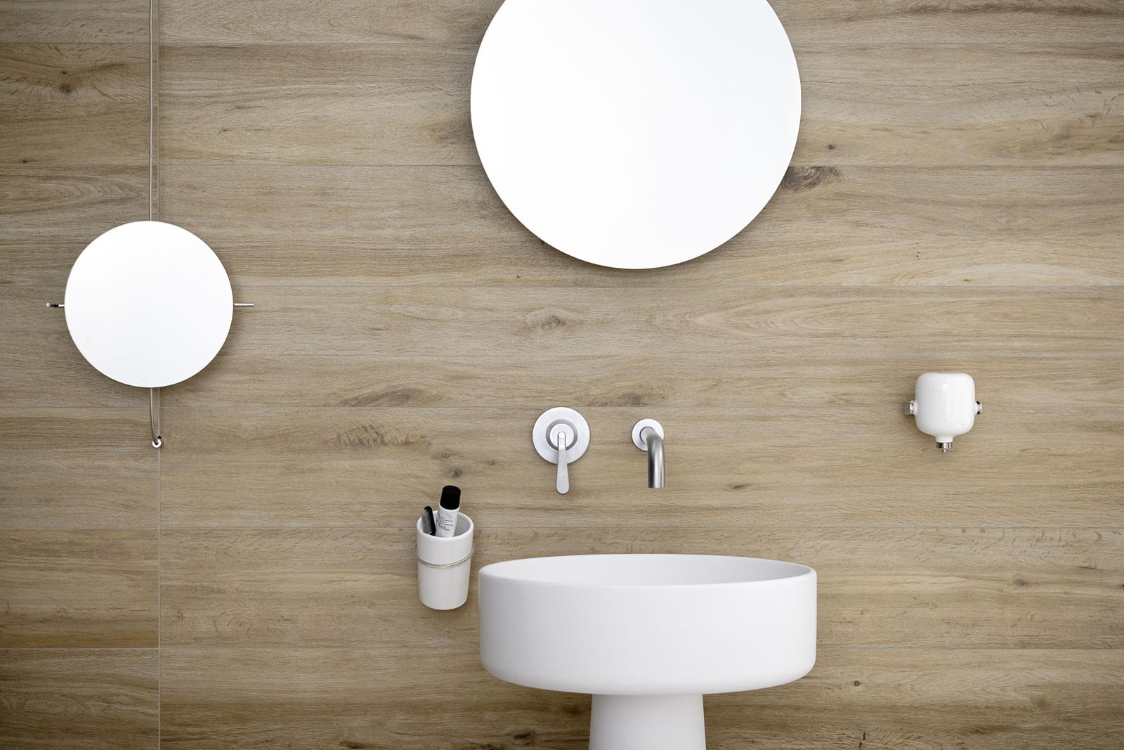 Azulejos cuarto de ba o cer mica y porcel nico marazzi - Ceramica beige para bano ...