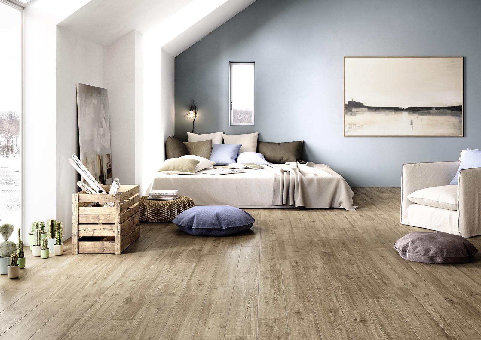 Treverkway - Pavimento de gres imitación madera  Marazzi
