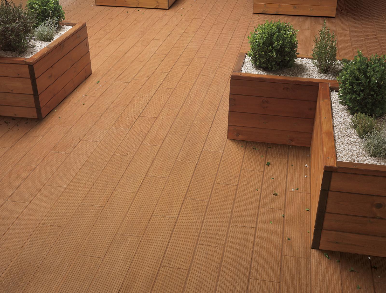 Habitat gres porcel nico imitaci n madera marazzi - Ceramica imitacion madera exterior ...