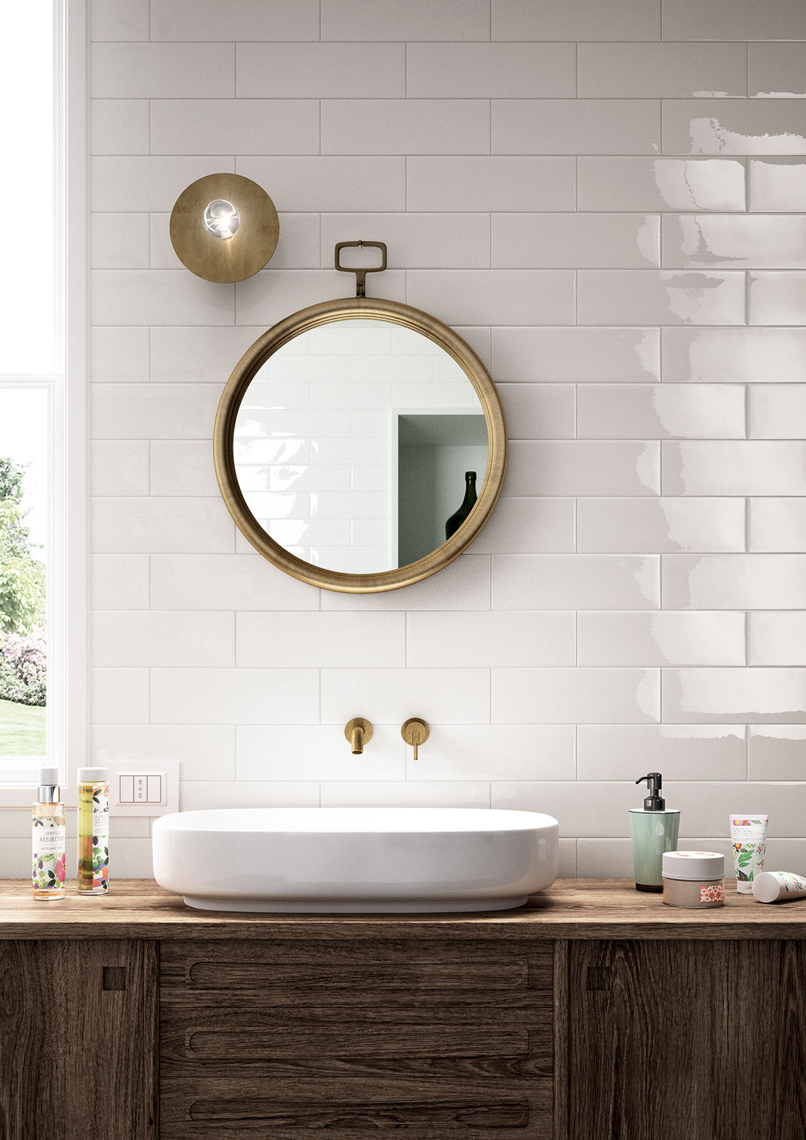 Azulejos cuarto de baño: cerámica y porcelánico  Marazzi