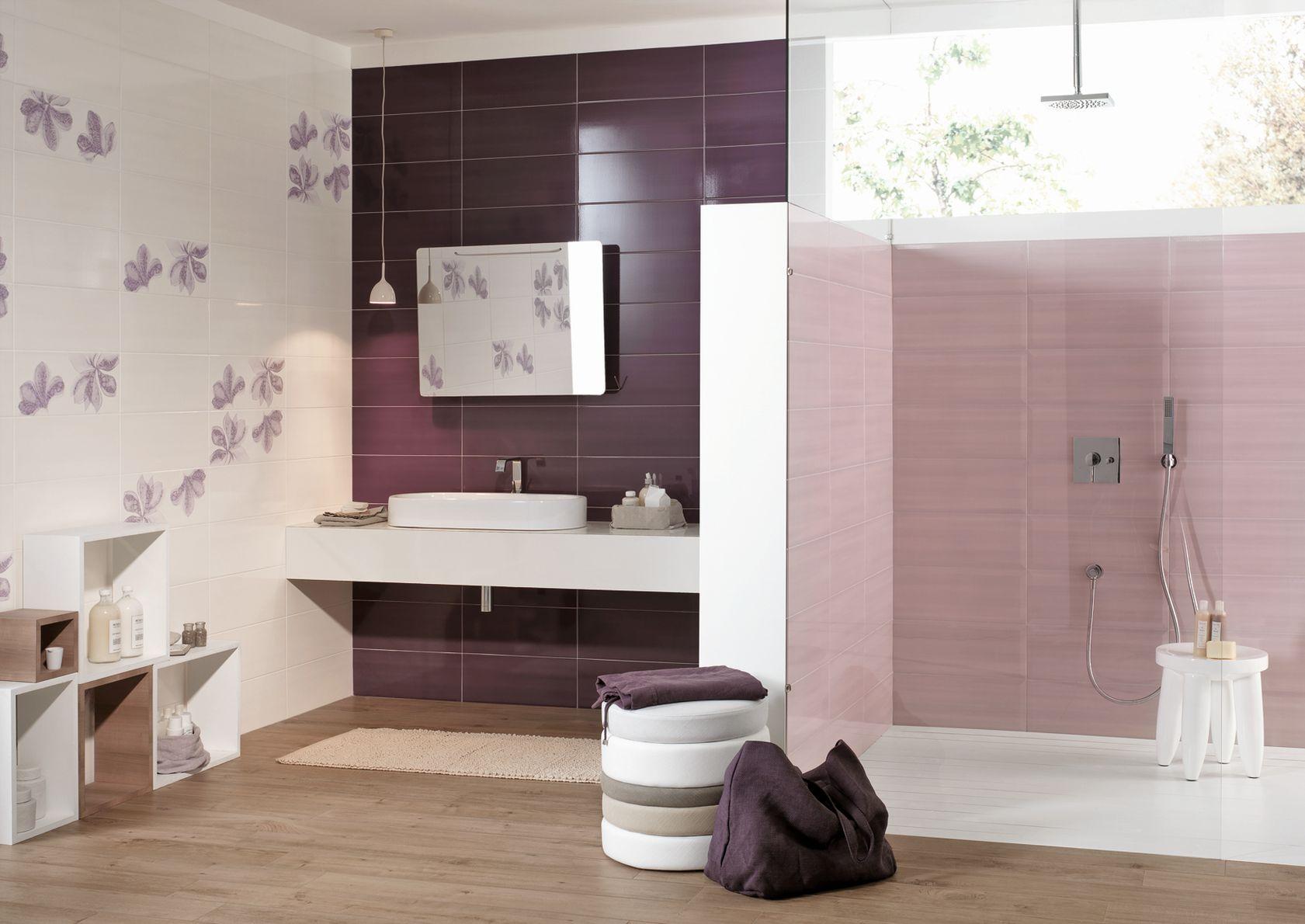 Azulejos violeta mira las colecciones marazzi for Marmol color morado