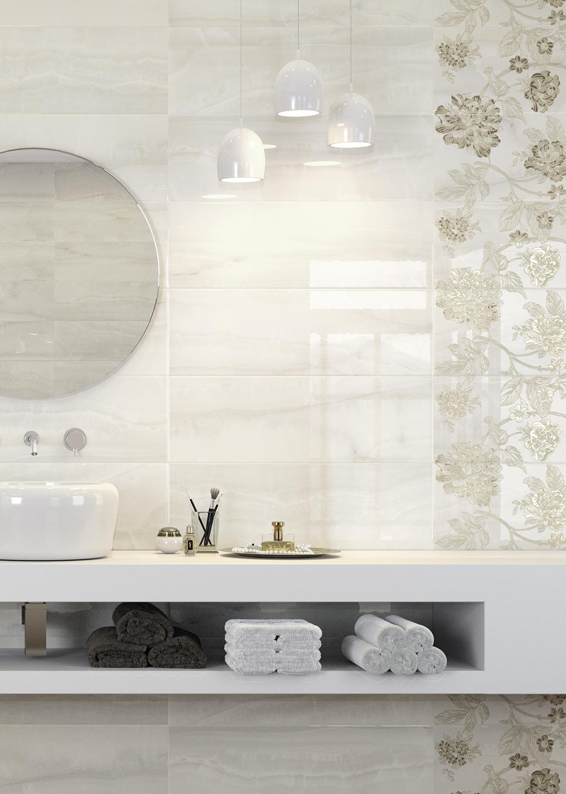 Azulejos Baño Imitacion Marmol:Onix – Gres imitación mármol para baño