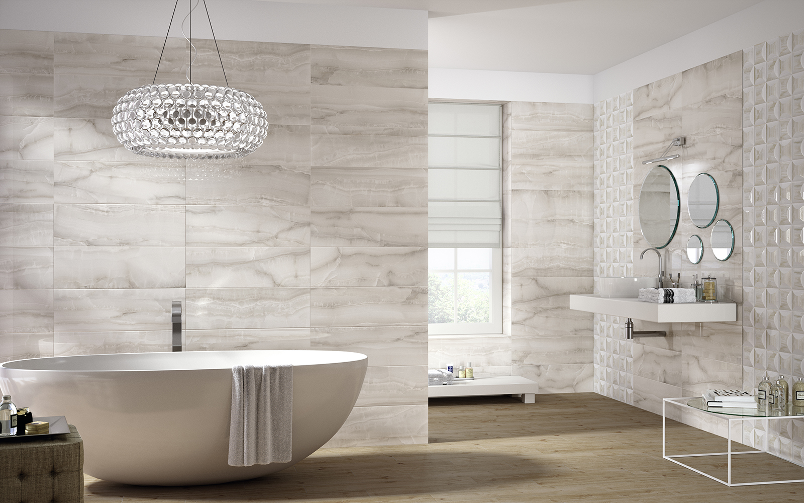 Azulejos Baño Marmol:Marazzi Porcelain Tile in Bathrooms