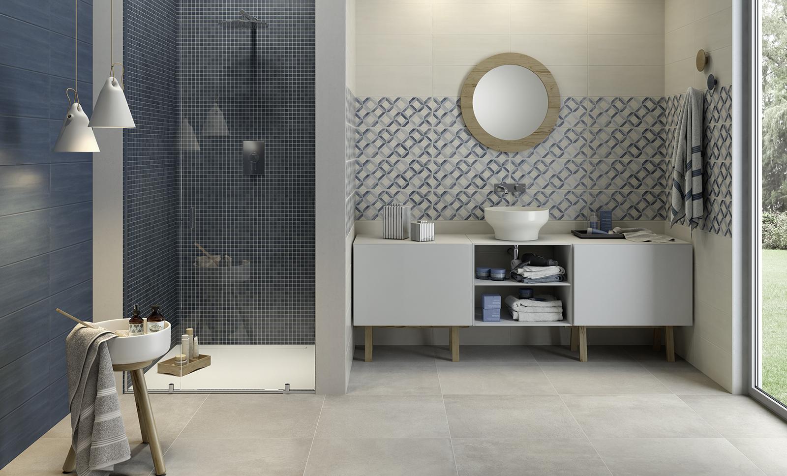 Azulejos Baño Gres Porcelanico:Azulejos para el cuarto de baño: cerámica y porcelánico – Marazzi