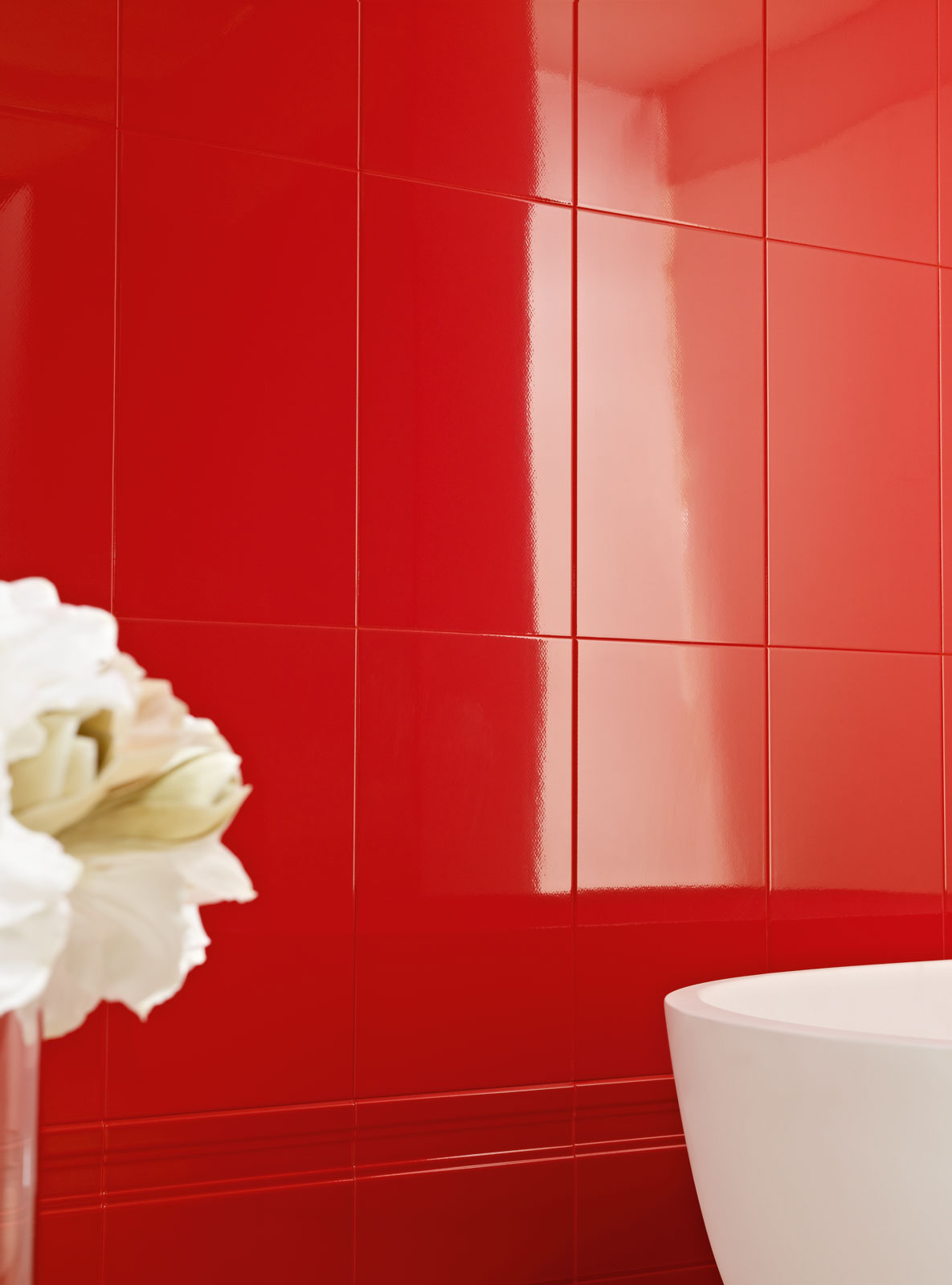 Palace marazzi for Piastrelle cucina rosse