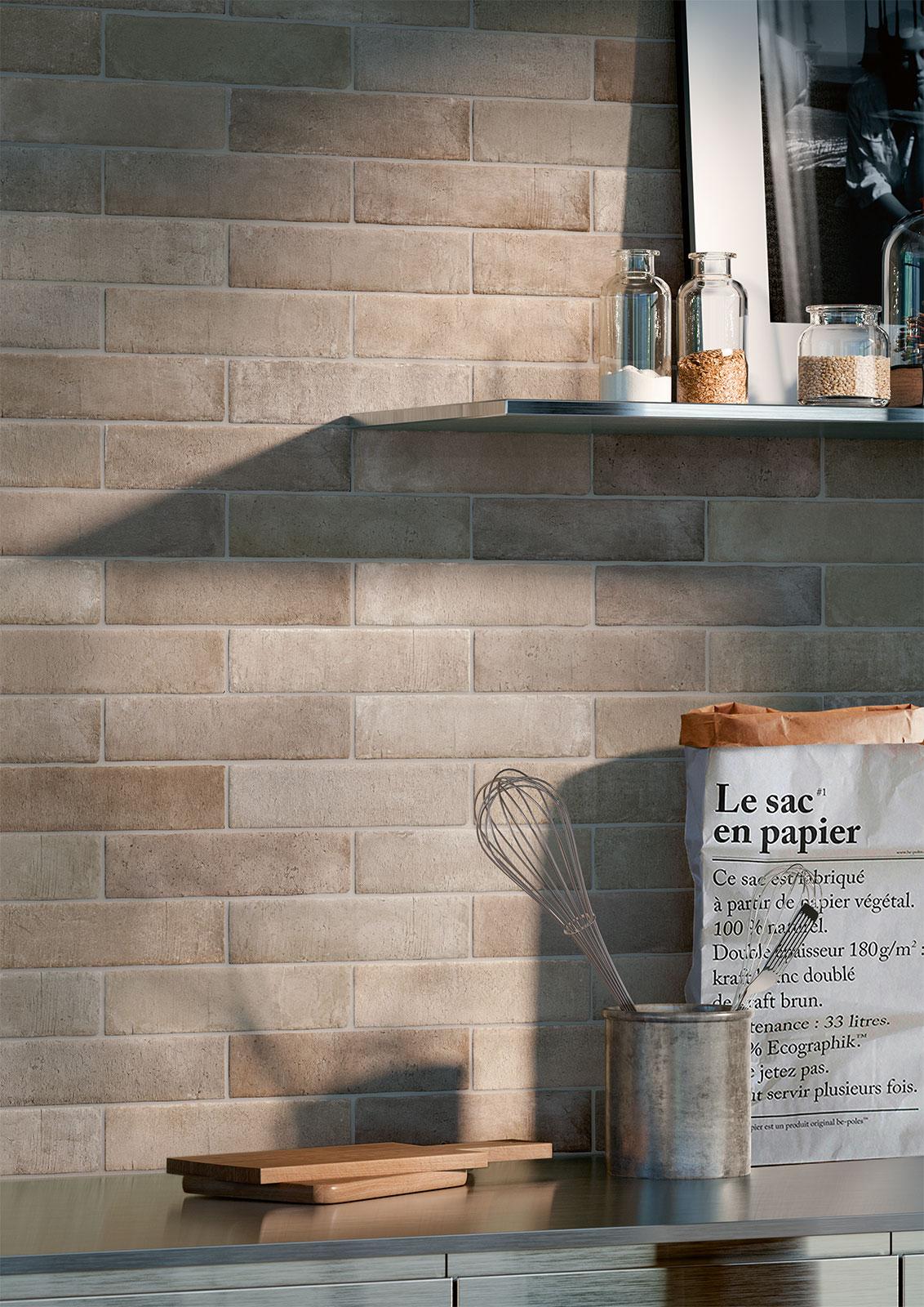 Azulejos cocina ideas cer mica y gres marazzi - Como limpiar azulejos cocina ...
