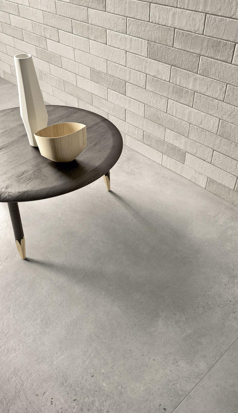 Gres porcel nico efecto cotto y cemento marazzi - Gres porcelanico limpieza ...