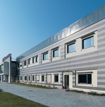Pavimentos sobreelevados fachada ventilada