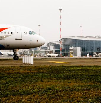 Aeropuerto Internacional Henri Coanda - gres cristallizzato