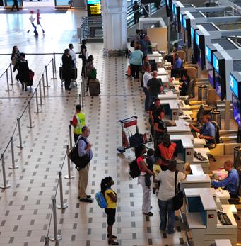 Piso interno Aeropuerto internacional de Ciudad del Cabo