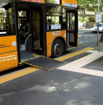 Parada de autobús Merano, en Merano