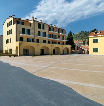 Plaza de Borgo Prino, Imperia