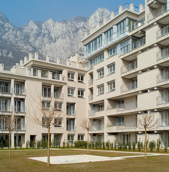 Complejo residencial, Lecco